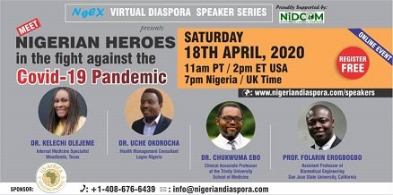 Meet Nigerian Heroes in the fight against the Covid-19 pandemic